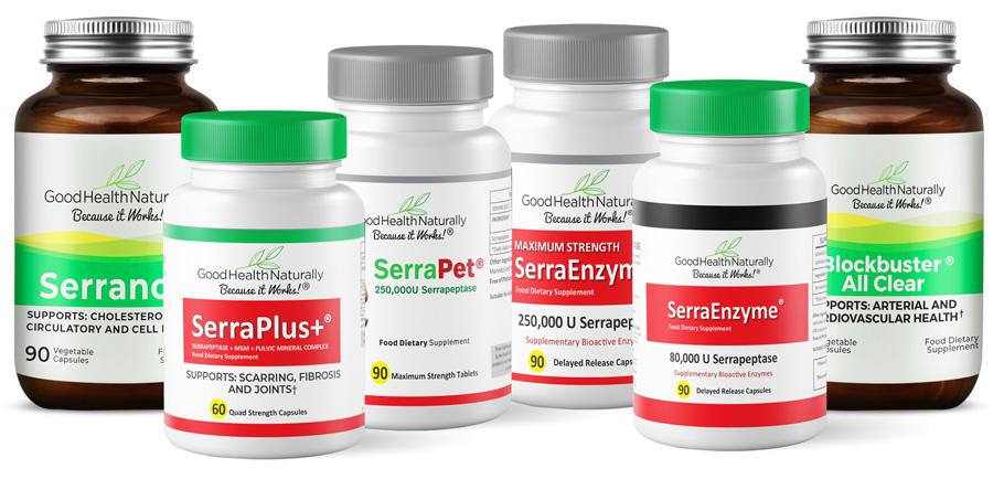 SerraEnzyme® 250,000iu